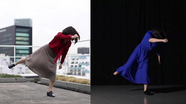 テレ朝 田中萌アナが本気でフル尺踊ってみた 23