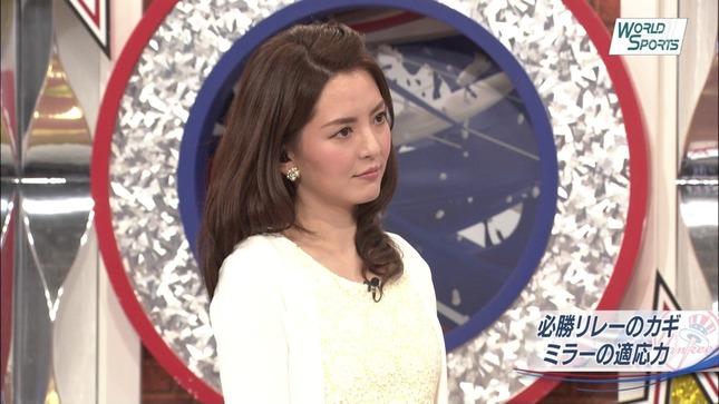 深津瑠美 ワールドスポーツMLB 15