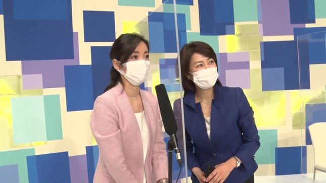 大江麻理子 WBS春の改編発表会見 14