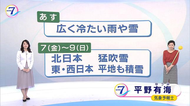 鈴木奈穂子 NHKニュース7 11