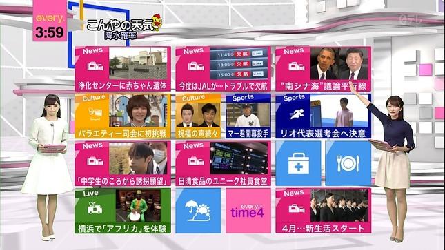 中島芽生 news every 伊藤綾子 5