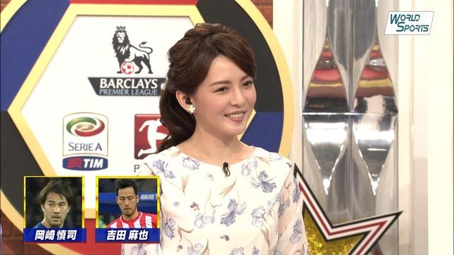 深津瑠美 ワールドスポーツSOCCER 12