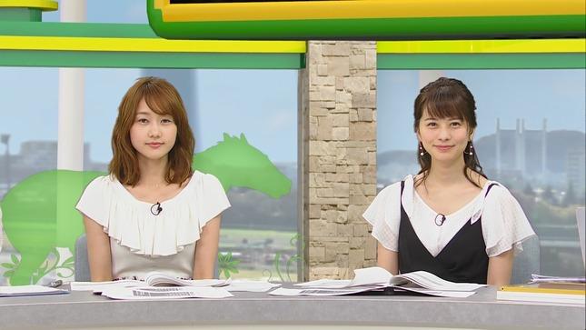 高見侑里 高田秋 BSイレブン競馬中継 くりぃむクイズミラクル9 3