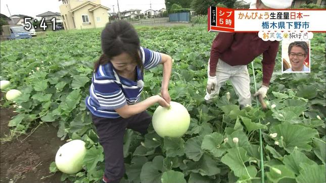 福岡良子 ニュースシブ5時 14
