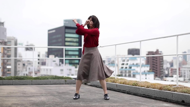 テレ朝 田中萌アナが本気でフル尺踊ってみた 6
