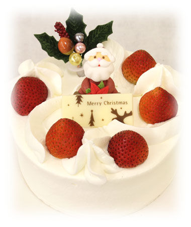 クリスマスケーキ苺