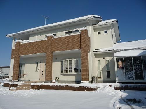 雪のマダム家1