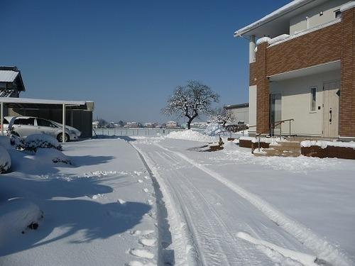 雪のマダム家2