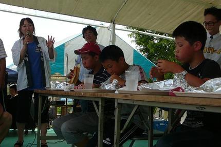 BIGバーガー早食い競争!!   by 磐梯まつり