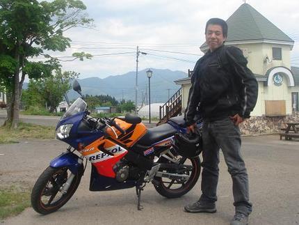 バイク日和がつづきますね・・・・・