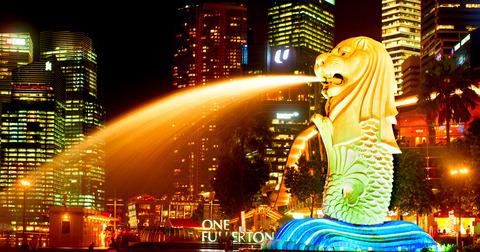 singapo-lion