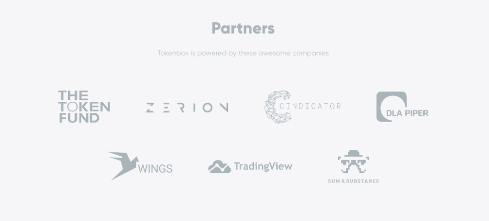 Tokenbox:本日よりトークン生成イベントが開始、Cindicatorとパートナーシップを結ぶ