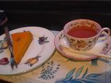 紅茶&タルト