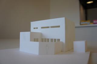 コラボハウスのこれから完成するお家の模型