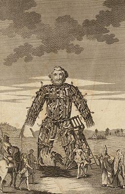 The Wicker Man of the Druids