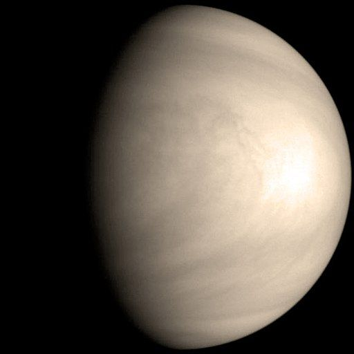 Galileo Venus global view