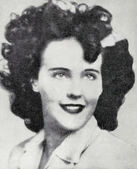 Elizabeth Short photo from police bulletin
