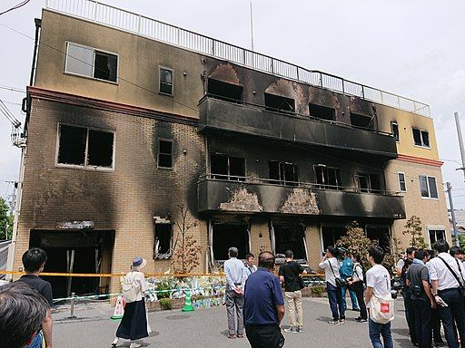 Kyoto animation arson attack 1 20190721
