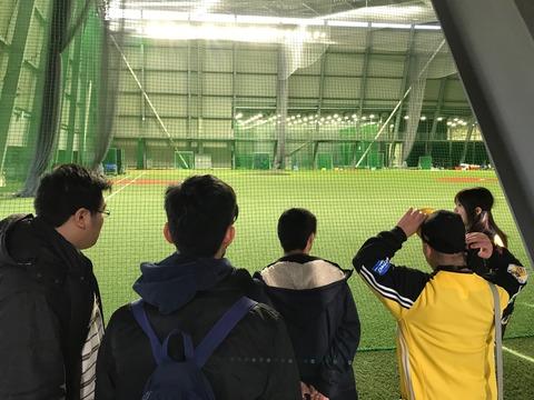 10.室内練習場も球場と変わらぬ広さ