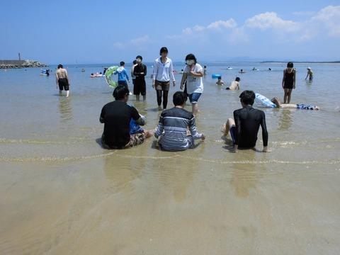 CF海水浴1