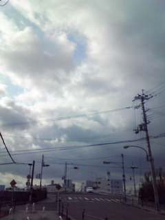 天気はイマイチ
