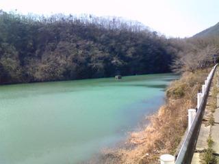 神戸水道千刈水源池水面