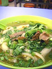 牛肉刀削麺(小)6元