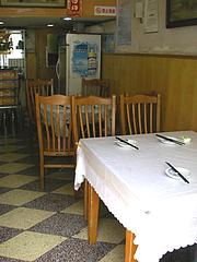 小さな食堂です。キレイだよ☆
