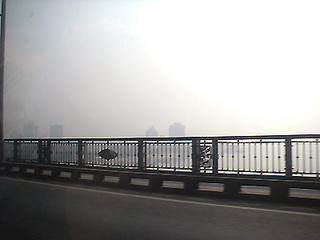 長江越え。さぶいよマジで。
