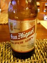 ずっとビール飲んでます(^^;)