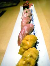 シメのお寿司