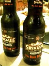 もちろん新疆黒ビール