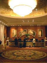 当たったホテルにお泊まりです。