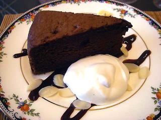 特製チョコケーキ