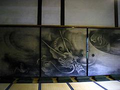 雲龍図(方丈 複製)