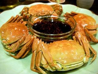 本場の上海蟹キター!