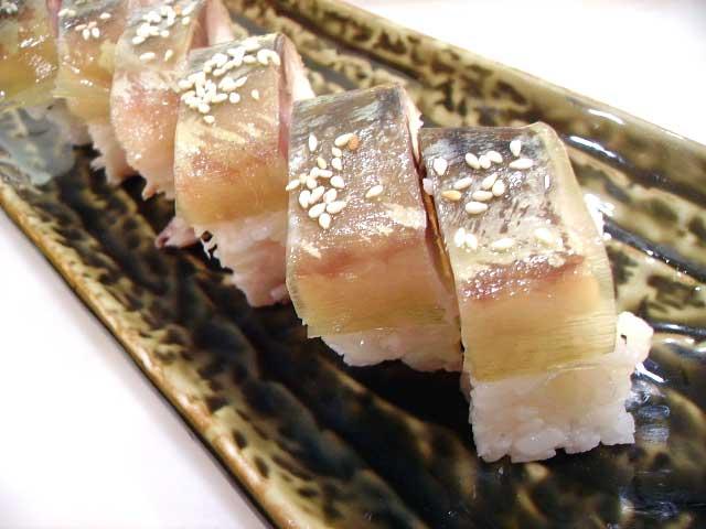 松前サバ寿司お気に入り