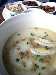 Bubur Ayam(鶏のお粥)