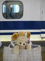 ひさしぶりの新幹線