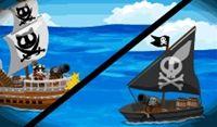 敵海賊とバトル