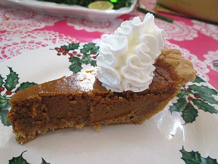 pumpin pie slice