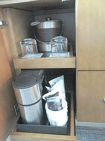 hyatt inroom cofee