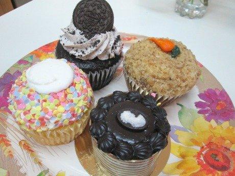 pm desserts plate