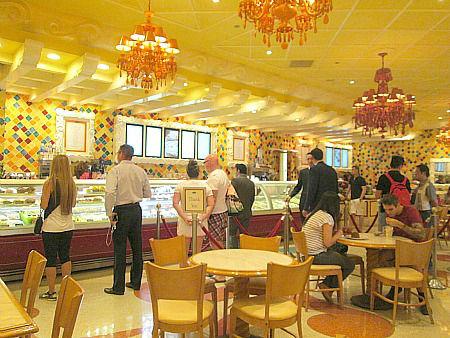 Cafe Gelato inside