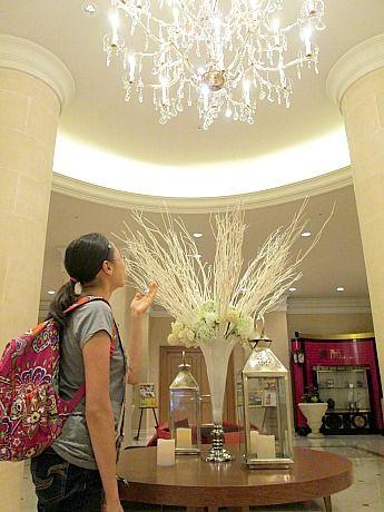 chandelier an