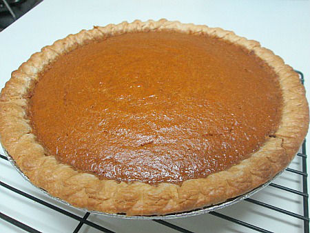 pumpkin pie whole