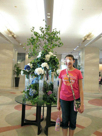 ANA lobby Angela star