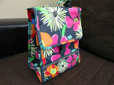 Jazzy Blooms Lunch Sack