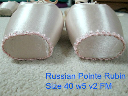 5th pair of Russin Pointe Rubin