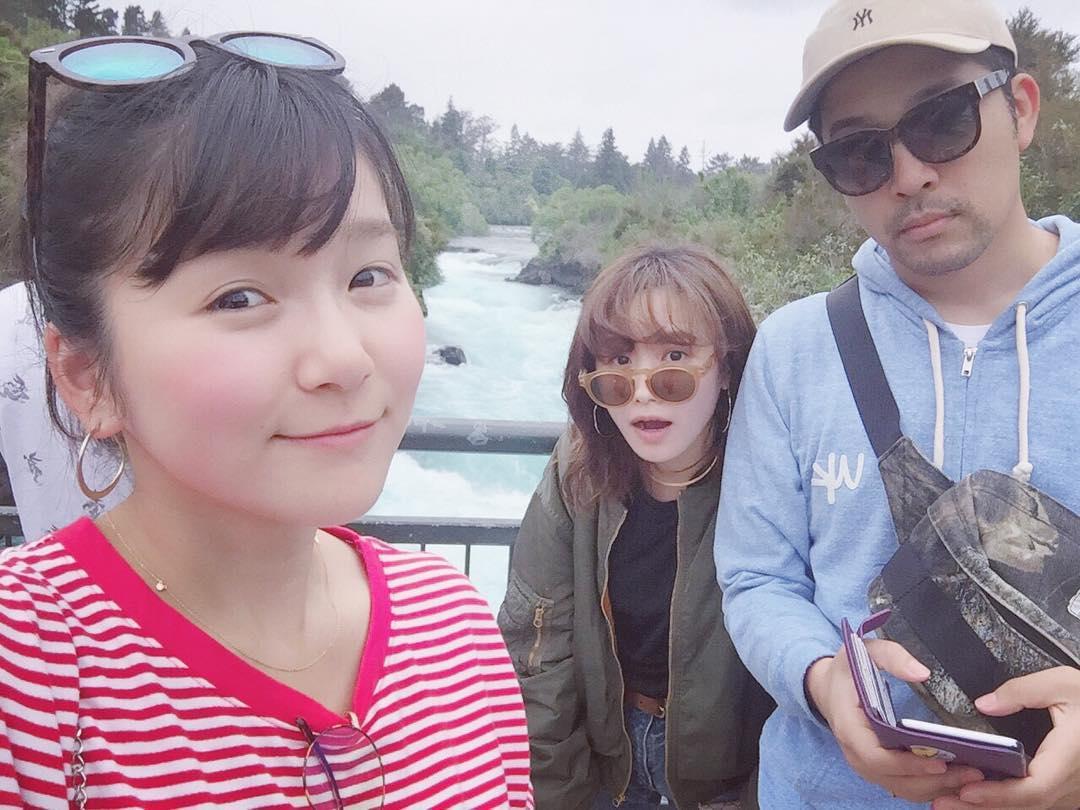 高橋愛、夫婦でNZ訪問「光井愛佳ファンのみなさん!愛佳はとっても ...
